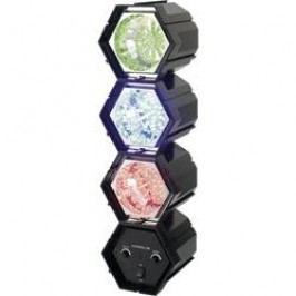LED efektové DISCO světla TM-7011-3L TM-7011-3L, 3kanálový, Červená, modrá, žlutá/oranžová