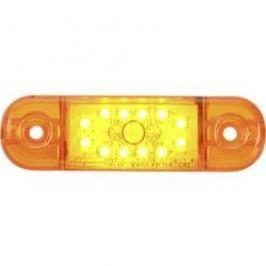 Zadní LED obrysové světlo SecoRüt, 95714, krátké, oranžová/transparentní