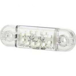 Přední LED obrysové světlo SecoRüt, 95716, krátké, bílá/transparentní