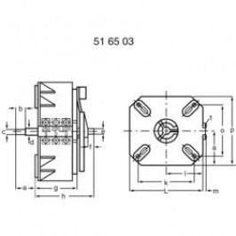 Regulační transformátor Thalheimer ESS 120, 230 V~, 1 - 250 V, 20 A
