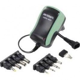 Síťový adaptér s redukcemi Voltcraft USPS-600, 3 - 12 V/DC, 7,2 W, zelená