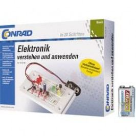 Výuková sada Conrad Components Set Basic Elektronik + 9 V Block-Batterie 616720 od 14 let