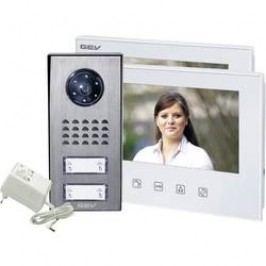 Kabelový domovní video telefon GEV CVS 88351 088351, bílá, antracitová