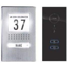 Domovní telefon kabelový m-e modern-electronics ADV 111 SS pro 1 rodinu