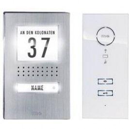 Domovní telefon kabelový m-e modern-electronics ADV 111 WW pro 1 rodinu