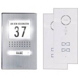 Domovní telefon kabelový m-e modern-electronics ADV 112 WW pro 1 rodinu