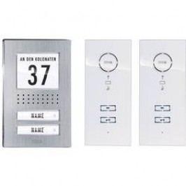 Domovní telefon kabelový m-e modern-electronics ADV 122 WW pro 2 rodiny