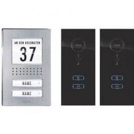 Domovní telefon kabelový m-e modern-electronics ADV 122 SS pro 2 rodiny