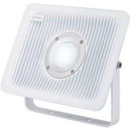Venkovní LED reflektor Renkforce 1361117, 50 W, studená bílá, šedá