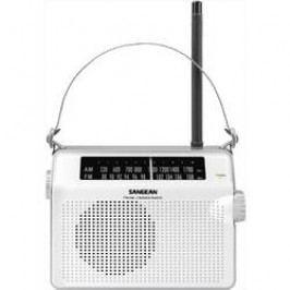 FM přenosné rádio Sangean PR-D6, SV, FM, bílá