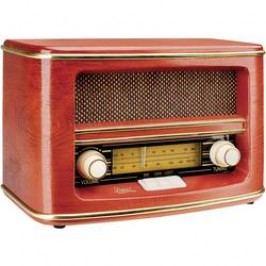 FM stolní rádio Dual NR 1, SV, FM, dřevo