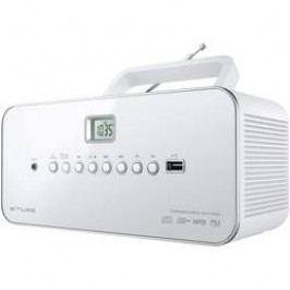 FM CD rádio Muse M-28 RDW, AUX, CD, SV, FM, USB, bílá