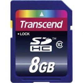 Paměťová karta SDHC 8 GB Transcend Premium Class 10