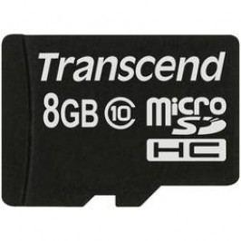 Paměťová karta microSDHC, 8 GB, Transcend Premium, Class 10