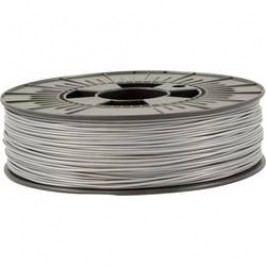 Vlákno pro 3D tiskárny Velleman PLA175S07, PLA plast, 1.75 mm, 750 g, stříbrná