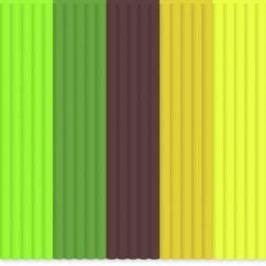 Sada vláken pro 3D tiskové pera 3Doodler AB-MIX6, ABS plast, 3 mm, 55 g, neonově zelená, hnědá, oranžová, neonově žlutá