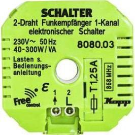 Bezdrátový přijímač Kopp Free Control 808003328, 1kanálový