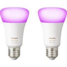 LED žárovka (sada 2 ks) Philips Lighting Hue white and color ambiance, E27, 10 W, RGBW