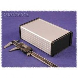 Univerzální pouzdro hliníkové Hammond Electronics 1457J1201BK, (d x š x v) 120 x 84 x 28,5 mm, černá