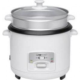 Rýžovar a parní ohřívač 2v1, Clatronic RK 3566, bílá