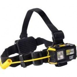 Pracovní LED čelovka CAT CT4120, na baterii, 130 g, černožlutá
