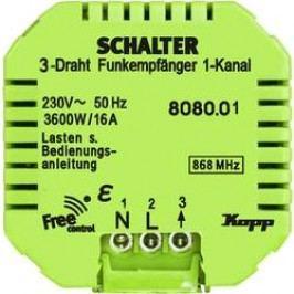 Bezdrátový přijímač Kopp Free Control 808001223, 1kanálový