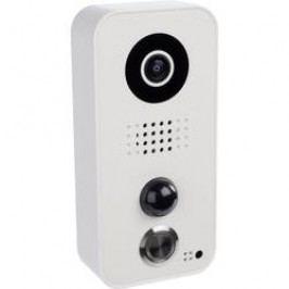 Wi-Fi, LAN domovní IP/video telefon Door Bird DoorBird D101, bílá