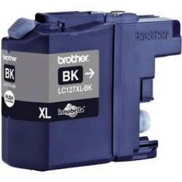 Inkoustová kazeta Brother LC-127XLBK originál černá LC127XLBK