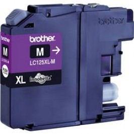 Inkoustová kazeta Brother LC-125XLM originál purppurová LC125XLM