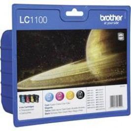 Brother Ink LC-1100 originál černá, azurová, purppurová, žlutá LC1100VALBP