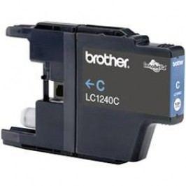 Brother inkoustová kazeta LC-1240C originál azurová LC1240C
