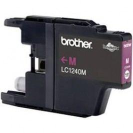 Brother inkoustová kazeta LC-1240M originál purppurová LC1240M