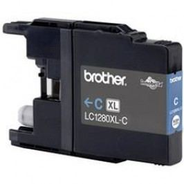 Brother inkoustová kazeta LC-1280XLC originál azurová LC1280XLC