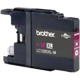 Brother inkoustová kazeta LC-1280XLM originál purppurová LC1280XLM