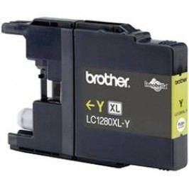Brother inkoustová kazeta LC-1280XLY originál žlutá LC1280XLY