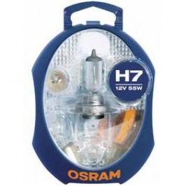 Sada náhradních autožárovek a pojistek Osram MINIBOX H7 CLKMH7 EURO UNV1, PX26d, 12 V