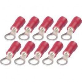 Sada kabelových oček s PVC izolací RKP 4L-1, 3259081, 0,5 - 1,5 mm², M4, červená, 10 ks