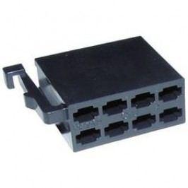 Konektor AIV, 56C001, 8pólové, černá