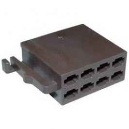 Konektor AIV, 56C002, 8pólový, hnědá