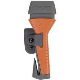 Nouzové kladivo s pásovým nožem do auta HP Autozubehör, 10660, šedá/oranžová