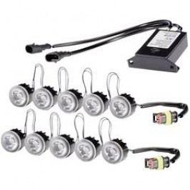 LED světla pro denní svícení Hella LEDayFlex, 2PT 010 458-801, 5 LED