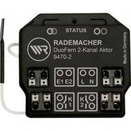 Bezdrátový spínač pod omítku WR Rademacher Rademacher DuoFern, 35140262, 2kanálový