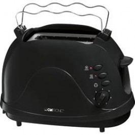 Topinkovač s vestavěnou funkcí ohřívání pečiva Clatronic TA3565 schwarz, černá