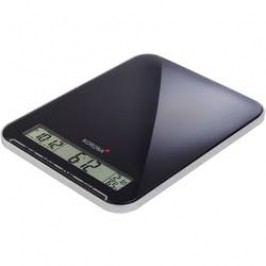 Digitální kuchyňská váha Korona Kastella, digitální, max. váživost 10 kg, černá