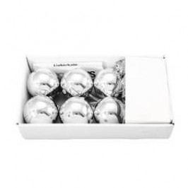 Vánoční koule dekorativní LED osvětlení Europalms 83500910 stříbrná