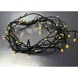 Vnitřní/venkovní osvětlení na vánoční stromeček X4-LIFE 50 LED na baterii teplá bílá 5 m