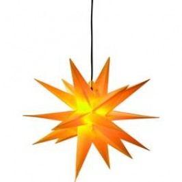 LED vánoční hvězda dekorační osvětlení Deco-Plant Jumbo 7970 E14 40 W žlutá