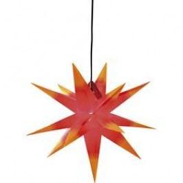 LED vánoční hvězda dekorační osvětlení Deco-Plant Jumbo 7973 E14 40 W červená, žlutá