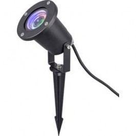 LED projektor sněhové vločky LED Polarlite 8623C73 černá