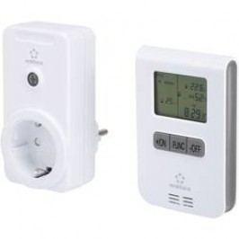 Sada bezdrátového termostatu Renkforce RS2W 3500 W Max. dosah 150 m